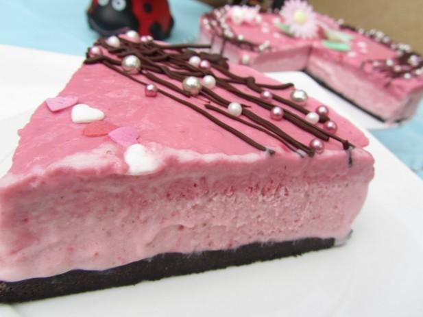 Tarta helada de fresas Thermomix