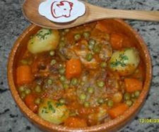 Ossobuco con verduras