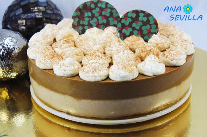 Tarta de café asiático