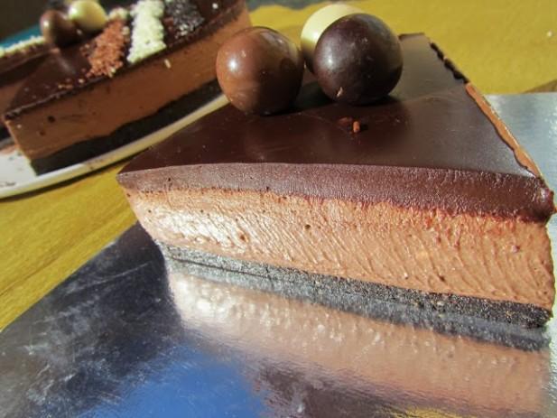 Cheescake chocolatísimo
