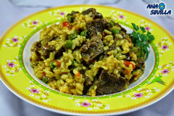 Arroz con ternera olla GM