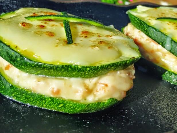Sandwich de calabacín