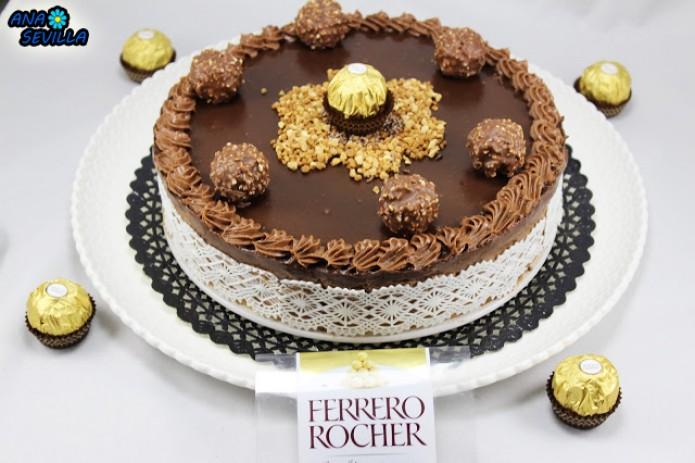 Tarta de Ferrero y nutella
