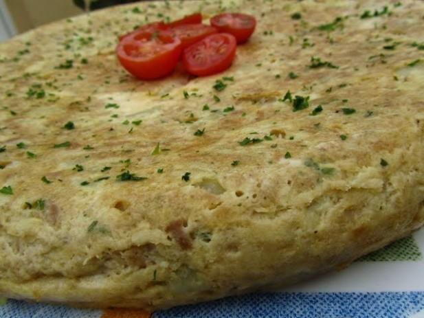 Tortilla de atún y patata
