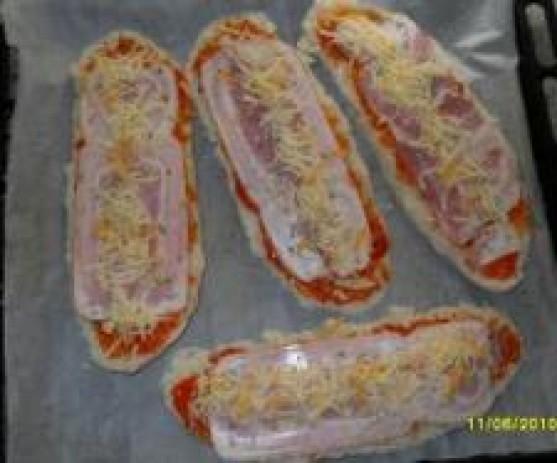 Pizzas baguettes