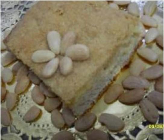 Tarta dulce Alemana (streuselkuchen)