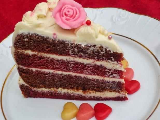 Tarta Red-Velvet (Terciopelo Rojo)
