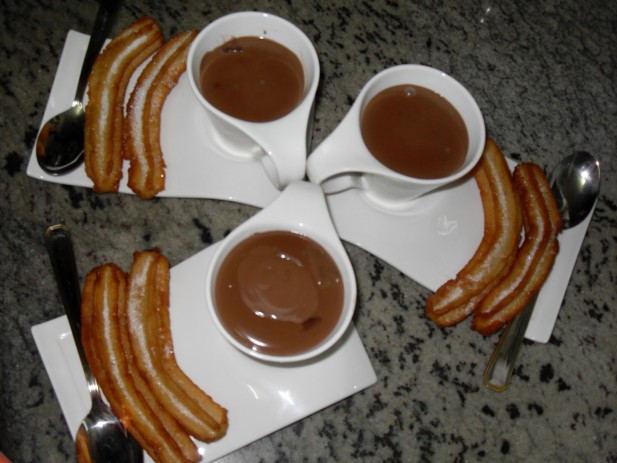 Chocolate con churros Thermomix