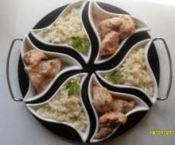 Pollo al limón Chino Thermomix
