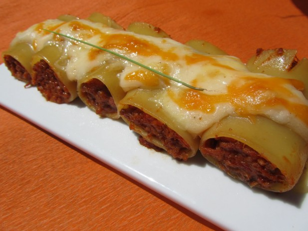 Pacchari rellenos Thermomix