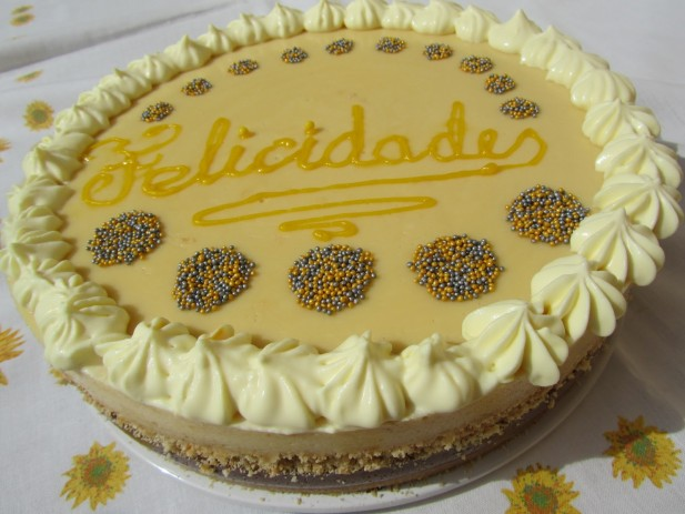Tarta de natillas y galletas Thermomix
