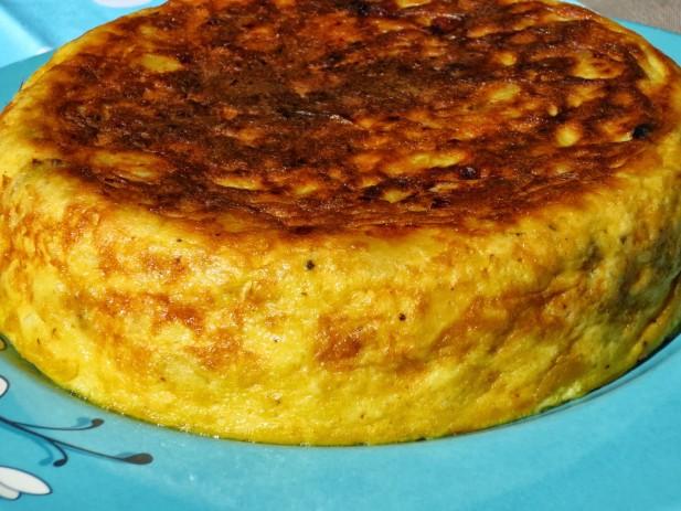 Tortilla de patata (casi sin aceite) olla GM