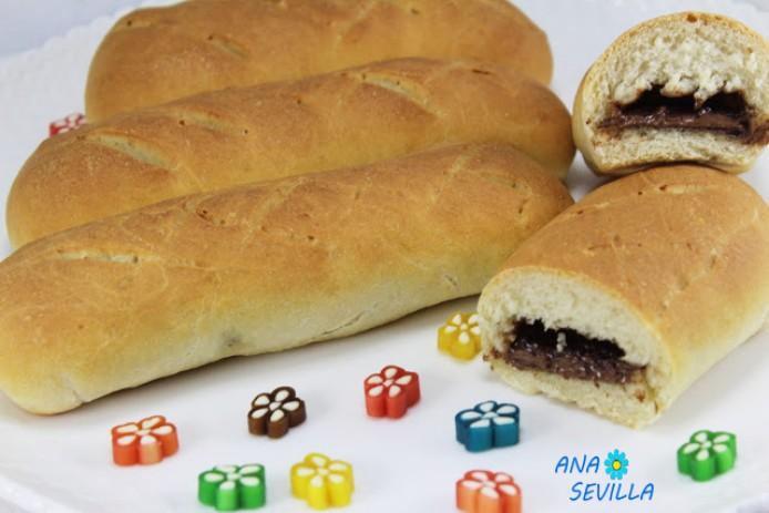 Bollycaos de pan casero